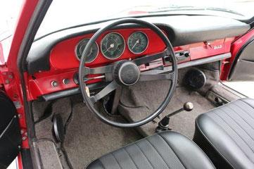 3 Armaturen im frühen Porsche 912