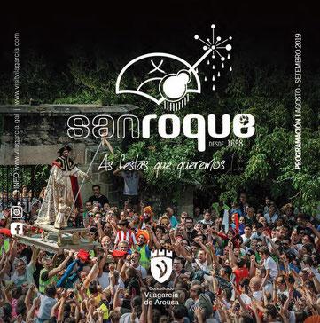 Fiestas de Vilagarcia de Arousa San Roque