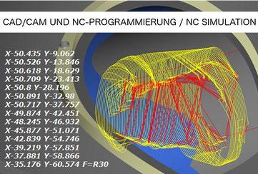 CAD/CAM und NC-Programmierung / NC Simulation