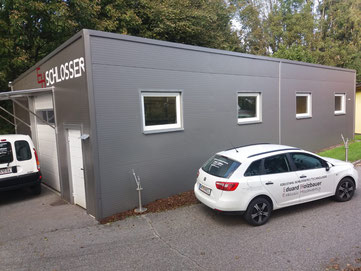 Edelstahl Schlosserei Holzbauer Lager Werkstatt