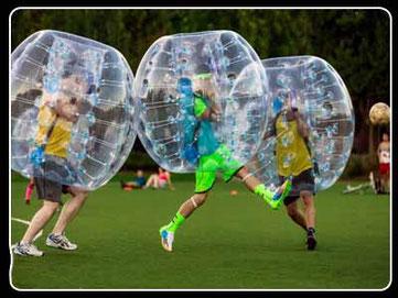 bubble futbol en Cadiz