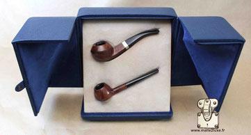 Ecrin sur mesure bijoux à Pipes Louis Vuitton