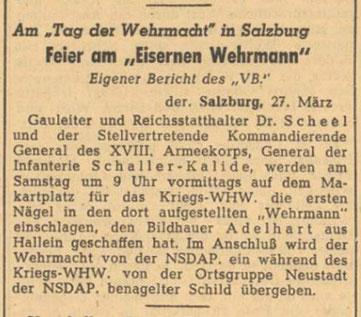 Völkischer Beobachter, 28. März 1942
