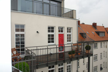 BlowerDoor Test Mehrfamilienhaus Wohnung