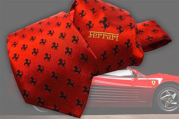 Krawatte mit Logo - bestickt oder bedruckt von Feld GmbH aus Krefeld