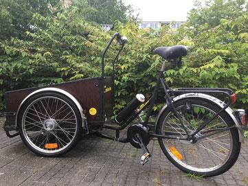 Christiania Bikes Rolstoelbakfiets van Fiets Ombouwcentrum Nederland