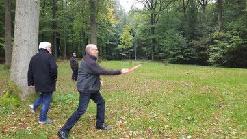 Sportlicher Einsatz auf der DiscGolf-Anlage in Rüthen-Kallenhardt