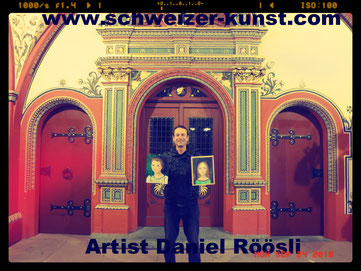 Röösli , Artist ,painter. Swiss, Exhibitions ,