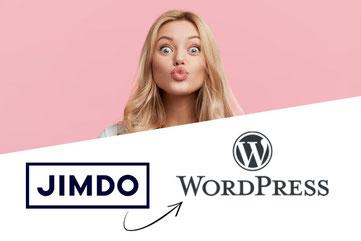 Jimdo Wordpress Umzug