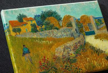 Hochwertige Bildreproduktion und Kunstreproduktion eines Gemäldes von Van Gogh