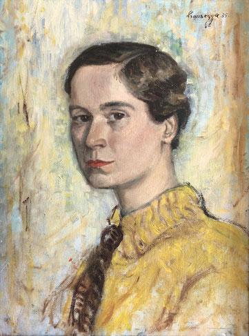 Hansegger, Portrait Else Lasker-Schüler, 1935