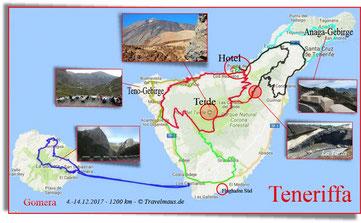 Unsere Routen - ~1200 km - Klick an zum Vergrößern!