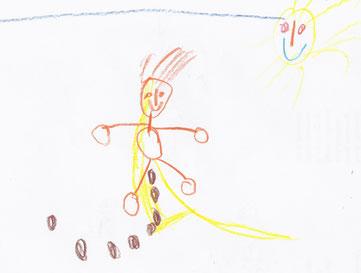 Pipi und Aa im Freien, von Kind 2