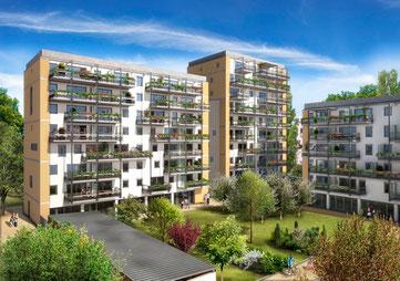 Esquisse du projet d'habitat participatif de la Cartoucherie, GGR architectes