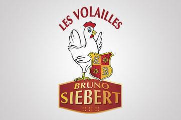 Huhn und Hahn Partner Bruno Siebert Les Voilailles