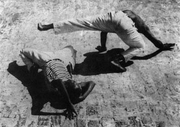 capoeira sur les quai années 30