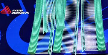Navetes Cárnicos Dennison 25mm Nylon Aquablue homologados Sanidad