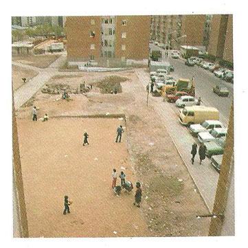 Parque del Elefante 1983. Cortesía de Alberto García