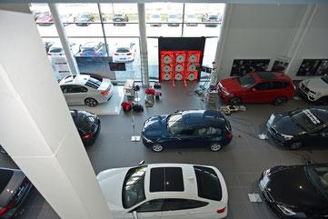 BlowerDoor Test BMW Gewerbe Industrie Verkauf Berlin