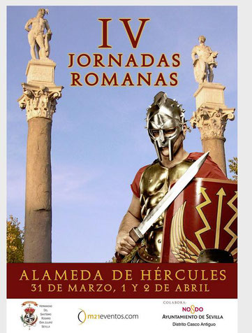 Programa de las Jornadas Romanas en Sevilla