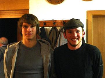 Das Siegerteam: Spitzl Roland und Plischke Maximilian
