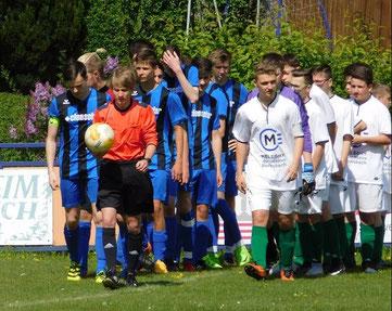 B-Jugend 5:3 gegen Saxonia Bernsbach