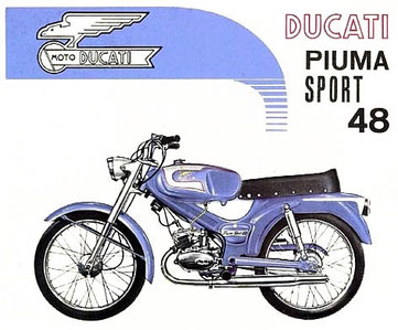 Anuncio italiano de la Piuma Sport 48