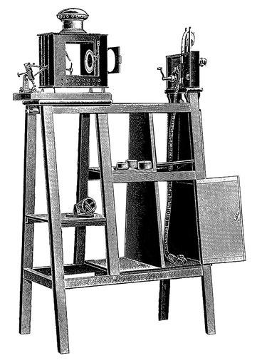Kinematograph um 1910