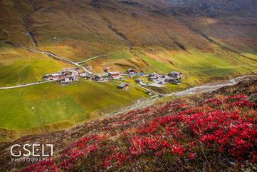 Juf Schweiz - Europas höchste Dorf (2126 m.ü.M.)