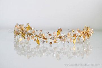 vincha de novia, vincha de perlas, vincha cristales, tocado novia.