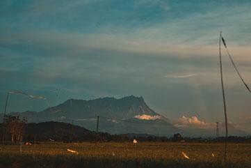 Mount Kinabalu Wolkenfrei
