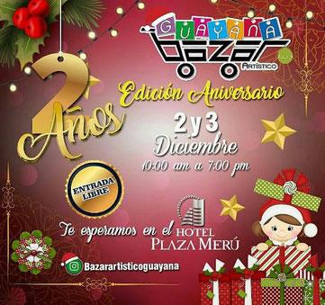 Bazar Artístico Guayana - Edición 2do Aniversario
