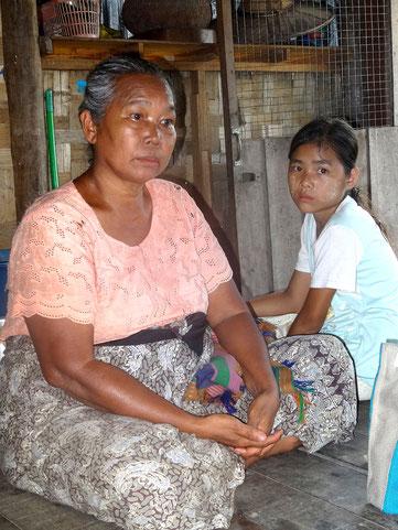 Daw Lha Lha Kyi lors de notre dernière visite en novembre 2014.
