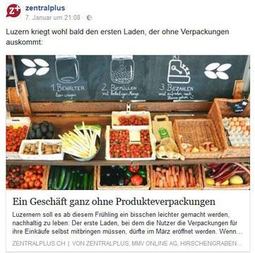 Zentralplus - Unverpackt Luzern