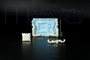 MouldManufaktur Silikonform Mould Ornamente Fondant