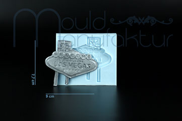 Silikonform MouldManufaktur Mould Fondant USA LasVegas