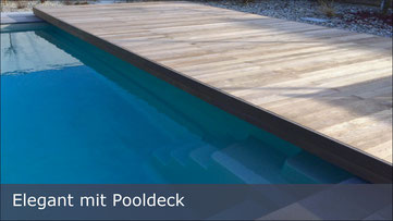 Compass Pool - Elegant mit Pooldeck