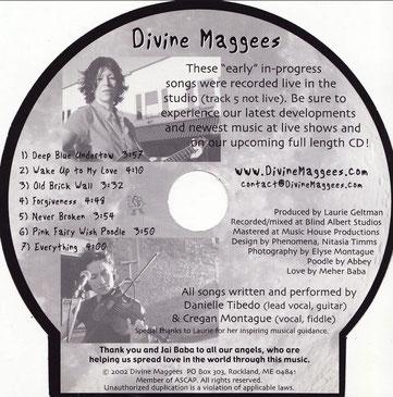 """CD : """" Way Back When """" Rear side"""