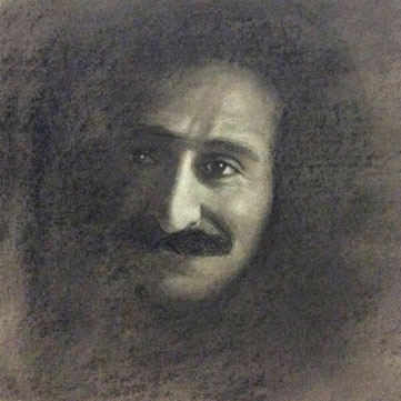 Meher Baba-India drawing No2