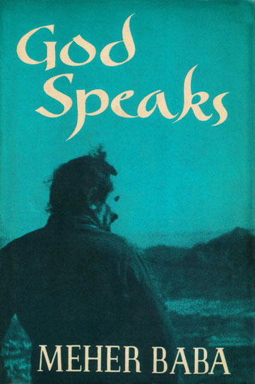 "Meher Baba's book  "" God Speaks "" - front cover"