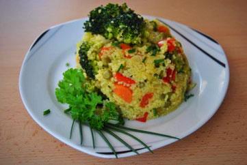 Detox-Rezept: Couscous-Gemüse-Pfanne