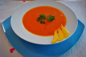 Detox Suppen Rezepte: Paprika Suppe