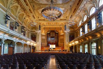 Großer Saal der Historischen Stadthalle Wuppertal-Elberfeld