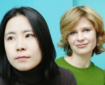 Zwei Positionen im Dialog- Jeong-Eun Lee & Christine Wamhof