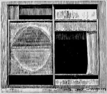 DRESDNER FENSTER  2004  29 x 33,5 cm