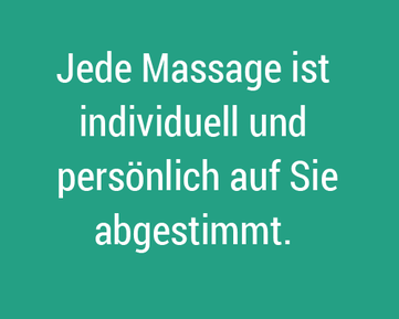 Massage Sigriswil, individuelle Massagen