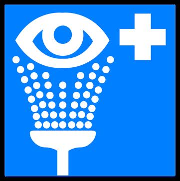 Ein Augenbad kann bei Trockenen Augen helfen