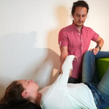 Erfahrung NeuroScanBalance. Lesson mit Daniel Lerch