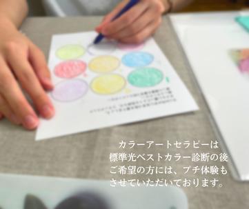 色彩心理カラーアートセラピー プチ体験セッション 糸島