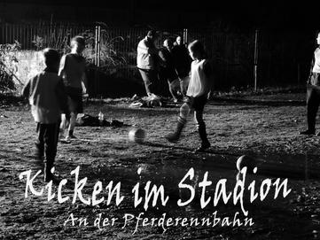 Kicken im Stadion Köln